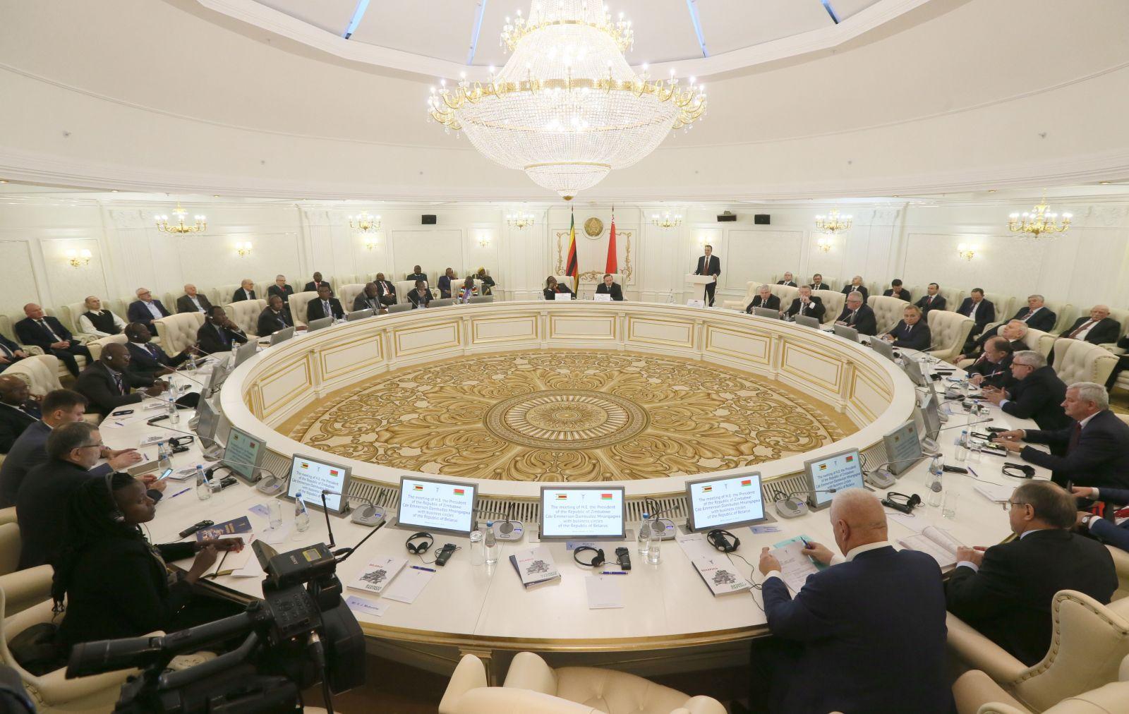 225487,01 Беларусь и Зимбабве могут выйти на масштабное экономическое сотрудничество - Шейман